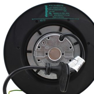 Ebm Papst R2S175-AB56-56 AC 230V 0.29~0.33A 51~53W 175x175mm Server Round Cooling Fan