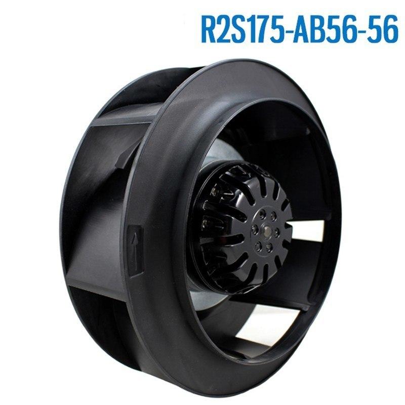 Ebm Papst R2S175-AB56-56 AC 230V 0.29~0.33A 51~53W 175x175mm Server Round Cooling Fan