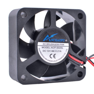 ACP-5020L 5cm 50mm 12V 0.21A Hydraulic bearing large air volume 2pin cooling fan
