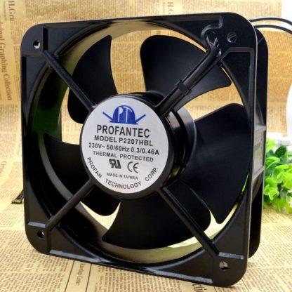 PROFANTEC P2207HBL AC220V  20CM 0.3A cooling fan