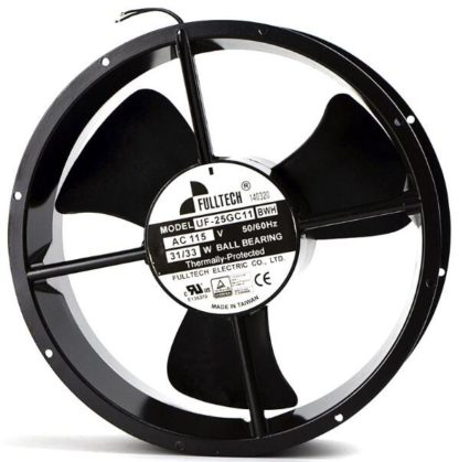 FULLTECH F-25GC11BWH/BTH AC115V axial flow silent cooling fan